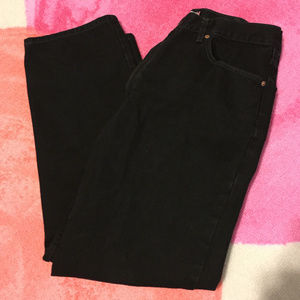 Levi's Black Jeans - 550 Relaxed Fit